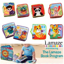 Wholesale DHL baby toys kids toys lamaze the Rama Zerbe book Habits of cloth styles books children s toys in boxes Fairy tale story