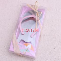 Wholesale DHL New quot Pop the Top quot Flip Flop Bottle Opener Wedding Party Favors Gift For Guest