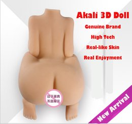 Wholesale D Real Solid Life Size Silicone Sex Doll for Men Anal And Pussy Two Tight Holes Sex Doll