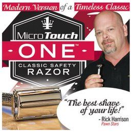 Wholesale Hot selling new Touch One Razor Classic Safety Razor Micro Best Gift for Brother Daddy Grandpa Boy Friends