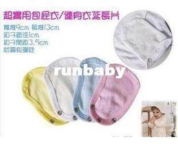 Wholesale Baby Clothes Extender Onesie Extender Apparel pajamas Romper Connector Extendband