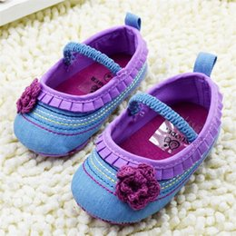 Wholesale Top Seller Baby s Girls Children s Kids First Walker Slip On Shoes Cotton Fabric Size CM KA26