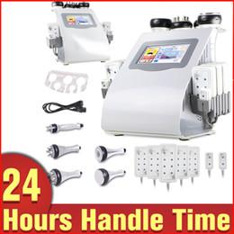 Promoção nova 6 em 1 máquina ultra-sônica da emulsão do laser de Lipo da radiofrequência do vácuo da cavitação para o spa