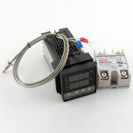Двойной цифровой РКЦ ПИД-регулятор температуры C100FK02-V * 110-240 полупроводниковое реле SSR25DA с термопарой K, SSR Выходной