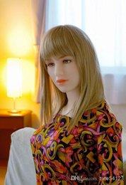 Wholesale Realista del sexo japonesa reales del amor de las muñecas del varón adulto Sex Toys completo de silicona muñeca del sexo dulce voz muñecas calientes de la venta B42222