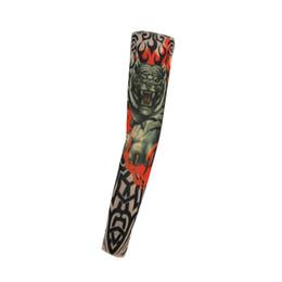 Wholesale Fashion Styles Slip On Temporary Tattoo Sleeves Kit Arm Stockings