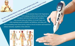 Wholesale 2016 new Intelligent acupoint detector electric acupuncture pen health treatment by dhl