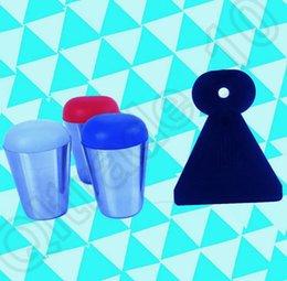 50set LJJH1232 metal del clavo de Ucrania Stamper Set Nail Polish Stamping Nail Sello bellas artes del raspador cuchillo pintura Imagen herramientas Diseño Placa de estilo