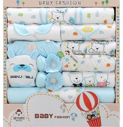 Wholesale Newborn baby Clothes set Gift cotton newborn baby clothing sets infants suit baby girls boys clothes