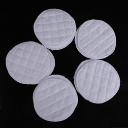 Wholesale 10pcs Soft Cotton Absorbent Reusable Washable Breast Feeding Baby Nursing Pads