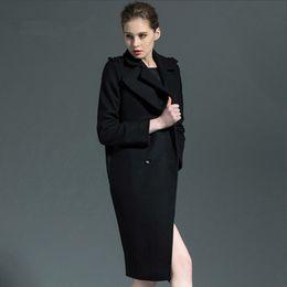 Discount Ladies Black Maxi Coats | 2017 Ladies Black Maxi Coats on