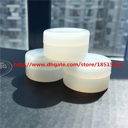 Wholesale 5ml g Wax Containers Silicone jars container silicone contianer for wax silicone jars dab wax container Clear color Silicone Container Jar
