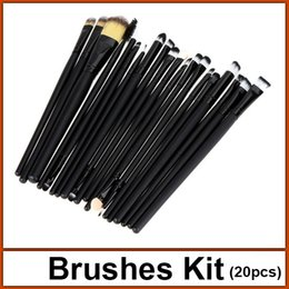 Wholesale hot quality brushes set makeup brushes set kit makeup brush cosmetic tools with bag EB6005