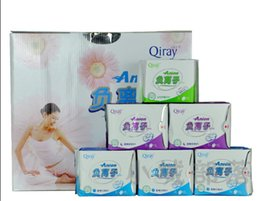 Wholesale Love moon Anion Sanitary Napkin Sanitary Towels Leakproof D N P package Set Female Hygiene Product For women