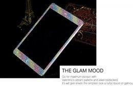 Glitter Bling Diamant pierre brillant Peau Face arrière côtés Autocollants Full Boday autocollants pour Ipad Mini 1 2 3 mini2 mini3 6 Air Air2 5pcs 10pcs