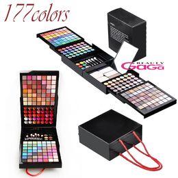 Wholesale BeautyGaGa Pro Supply Color Makeup Set Eyeshadow Palette Blush Lip Gloss Brow Shader Concealer Eyeshadow Gel