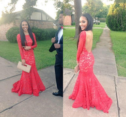 Discount Senior Prom Dresses | 2017 Red Senior Prom Dresses on ...