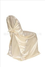Wholesale Wedding Supplies Chair Covers Ivory stretch chair covers polyester whole sale hot new quality large size universal