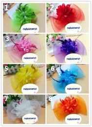 Eglise Hat New Womens Summer Lace and Net Yarn Wedding Hat Mode féminine Belle et plus de couleurs Chapeau de soleil