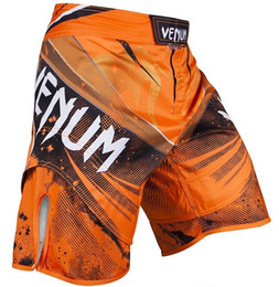 Wholesale XS S M L XL MMA Fight shorts Man GALACTIC FIGHTSHORTS black green orange