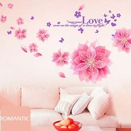 Hot pink wallpaper for bedroom