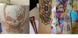 Wholesale Henna Tattoo Art Paste Temporary Tattoo Brown for body