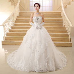 Princess Strapless Wedding Dresses Diamonds Online | Princess ...