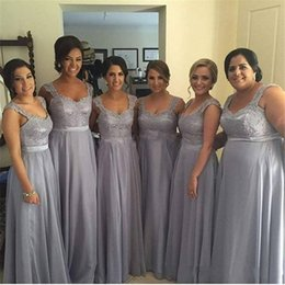 Grey Plus Size Bridesmaid Dresses Online  Grey Plus Size ...