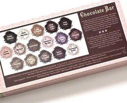 Wholesale Cheap china cosmetics Colors Eyeshadow Makeup eyeshadow palette too face chocolate bar eye shadow natural
