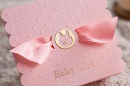 Wholesale 100Pcs Baby Girl Party Candy Boxes Summer Style Favor Holders Beautiful Pink Color Box