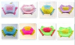 Wholesale 30pcs new Baby Ruffle Swim Diaper Cake bloomers Lace Cake swim diapers swimwear baby swimming shorts COLORS in stock now D100
