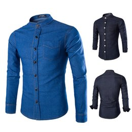Mens Slim Denim Shirt Online | Mens Slim Fit Denim Shirt for Sale