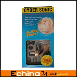 Wholesale Behind the Ear Sound Amplifier Deaf Hearing Aid Aids Cyber Sonic