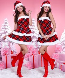 Discount sexy mrs santa claus costume 2017 sexy mrs santa claus