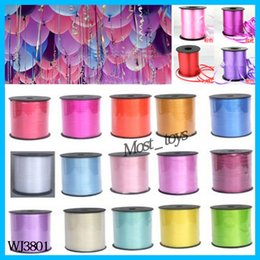 Wholesale 2015 High Quality Of Personalized Printing Ribbons Balloons Ribbons And A Variety Of Color Choices Party Wedding Decoration WJ3801