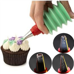 3 Pcs Set Cakes Decorating Design Dessert Decorator Cupcakes Cooking Baking Pastry Kitchen Gadgets Tools Dining Bar Accessories