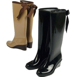 Discount Rain Boots Wedge Heel Women | 2016 Rain Boots Wedge Heel