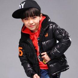 Wholesale Children s Down Coat Retail New winter boy coat boys cotton padded jacket Kids winter duck down cotton coat