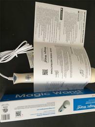 Wholesale 260R Hitachi Magic Wand Massager AV Vibradores Massager de gran alcance japonesa de cuerpo completo personal HV caja de embalaje HV260 V libre de DHL