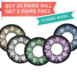 Wholesale 1pair pc KML Namie colors mm Produced by Korea factory Top cosmetic contact lenses colored contact lenses