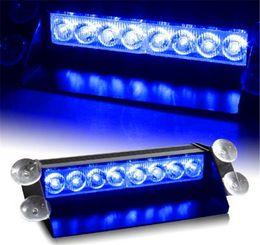 8 Строба СИД свет 8W 12V автомобиль проблескового света аварийного света наивысшей мощности бесплатная доставка