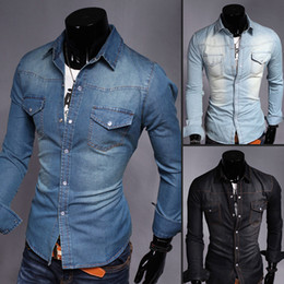 Discount Jeans Shirts Designs For Men | 2017 Jeans Shirts Designs ...