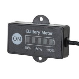 Indicador LED de bateria Medidor de Nível calibre 12V / 24V de chumbo-ácido de bateria CEC_539