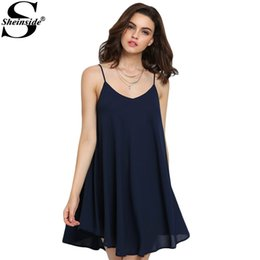 Navy Shift Dress Online  Navy Blue Shift Dress for Sale