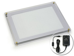 Wholesale A4 TATTOO Ultra Thin LED Stencil Tracing Light Box Table