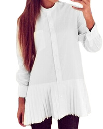 Discount Ruffle Shirt For Womens | 2017 Ruffle Shirt For Womens on ...