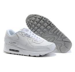 2016 Shoes Run Air Max Original Air Max 90 sepatu lari, Hitam Grey biru putih merah,Sneakers Olahraga sepatu atletik, 9 warna,Running Sports shoes affordable Shoes Run Air Max