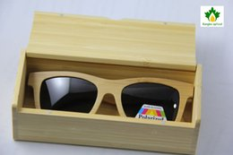 Wholesale handmade bamboo box wood box box for sunglasses galsses case glasses bag