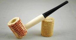 Livraison gratuite en gros ----- pipe de maïs normal 411 # Couleur noire bouche droite, le diamètre extérieur de 32 mm, un diamètre intérieur de 16 mm, dep