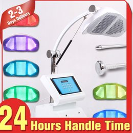Discount rejuvenation skin Colors 218 LED Light Photon Dynamics Therapy Acne Cure Wrinkle Removal Facial Skin Care Machine